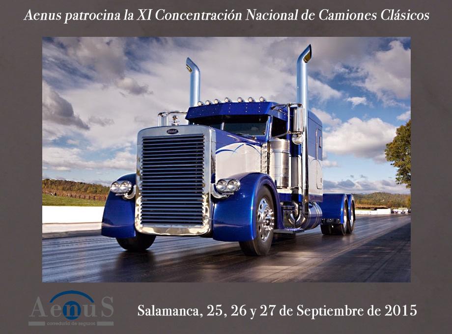 Concentración Camiones Clásicos Salamanca Aenus